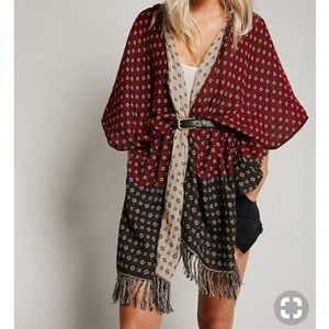 Free People Time After Time Kimono.